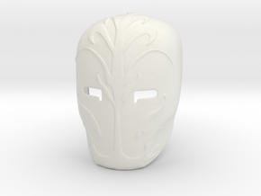 Star Wars - Jedi Gaurd Mask in White Natural Versatile Plastic