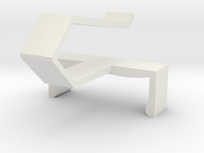 KERUI Remote Visor Clip in White Strong & Flexible