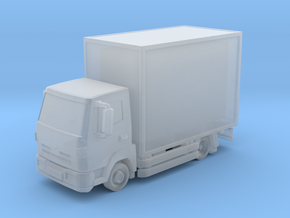 Truck 01. Z Scale (1:220) in Smooth Fine Detail Plastic