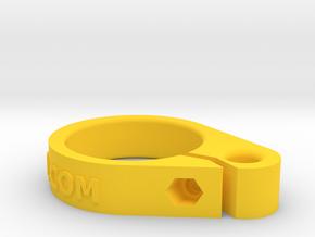 IMPRENTA3D GUIA CABO ESCOTA BOTAVARA in Yellow Processed Versatile Plastic
