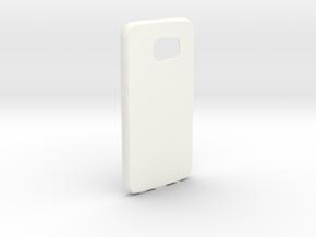 Customizable Samsung S6 case in White Processed Versatile Plastic