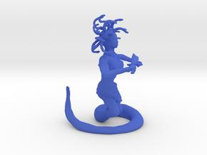 Medusa in Blue Processed Versatile Plastic