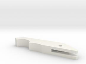 Matt Smith 11th Doctor's Sonic Screwdriver Claw in White Natural Versatile Plastic