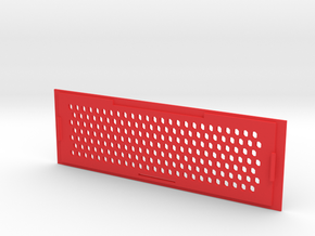 AZ15 Computer Case Lid in Red Processed Versatile Plastic