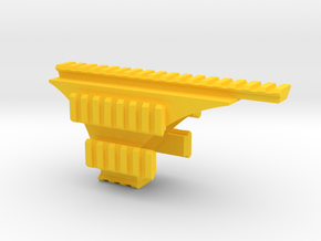 Pistol Hex-Rail in Yellow Strong & Flexible Polished