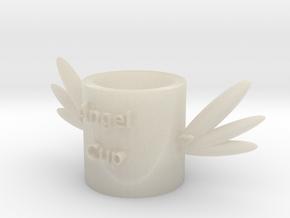 104102321天使杯子 in White Acrylic