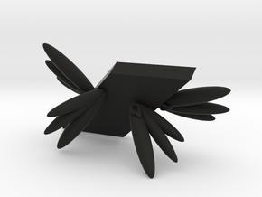 104102321呂昀霖 天使手機架 in Black Strong & Flexible