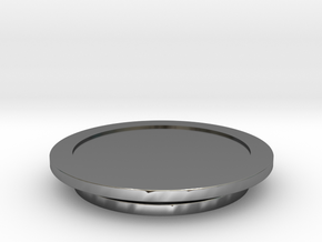 Modeling Coasters in Fine Detail Polished Silver