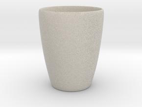 Coffee mug #1 XL - Inner ear in Natural Sandstone