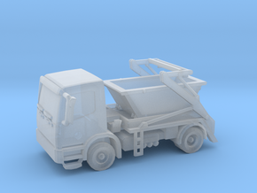 Truck & Container 01. N Scale (1:160) in Smooth Fine Detail Plastic