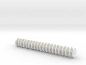 1/64 disc gang 2.2 inches in length.  in White Natural Versatile Plastic