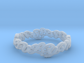 EVLIN RING SIZE 8 in Smooth Fine Detail Plastic