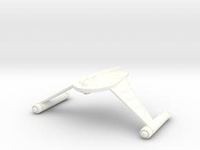 T2 Talon Class IV Destroyer in White Processed Versatile Plastic