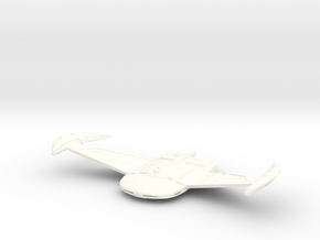 V3 Hunter Class VI Cruiser in White Strong & Flexible Polished