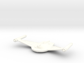 V8 WarBird Class HvyCruiser in White Strong & Flexible Polished