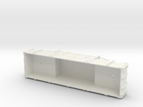 A-1-19-wdlr-e-wagon-body in White Natural Versatile Plastic