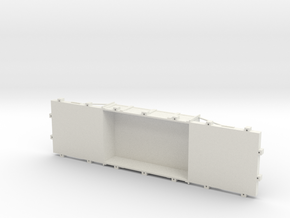 A-1-24-wdlr-f-wagon-body in White Natural Versatile Plastic