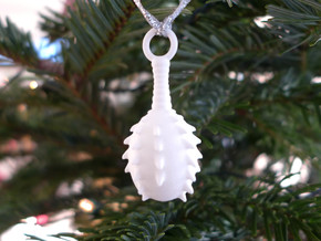 Lagena Ornament in White Strong & Flexible Polished