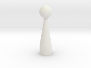 4 cm brachytherapy applicator in White Natural Versatile Plastic