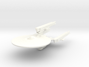 Federation Class Mk VI Heavy Dreadnought   BIG in White Strong & Flexible Polished