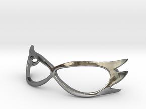 Sailor-V 1/3 scale Mask for BJD in Fine Detail Polished Silver