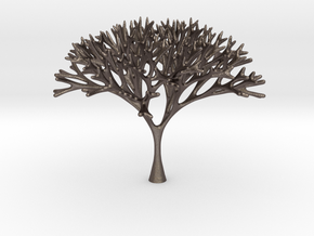 Recursive Tree in Polished Bronzed Silver Steel
