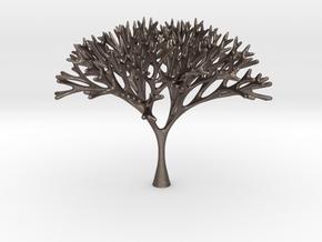 Recursive Tree in Polished Bronzed Silver Steel