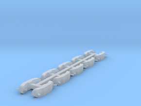 Sway Braces in Smooth Fine Detail Plastic