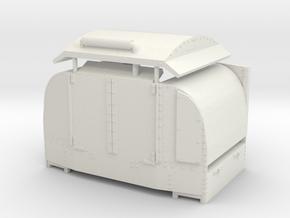 B-1-55-protected-simplex-open-doors in White Natural Versatile Plastic