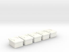 1/18 USN Gauges Mv1 Set 5 Units in White Processed Versatile Plastic