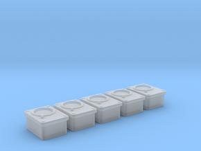 1/18 USN Gauges Mv1 Set 5 Units in Smooth Fine Detail Plastic