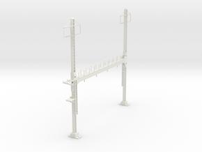 PRR BEAM SIGNAL 4  BRIDGE 2 PHASE 87 in White Strong & Flexible
