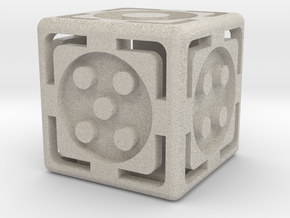 Open Dice in Natural Sandstone