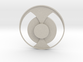 Double modeling Coasters in Natural Sandstone