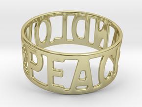 Peaceandlove 70 Bracelet in 18k Gold