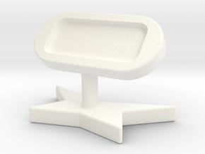 造型手機架 in White Strong & Flexible Polished