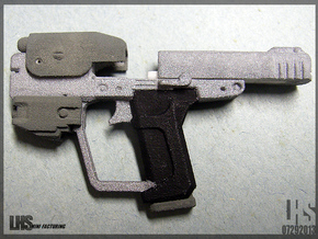 1/6 scale Magnum Pistol in White Natural Versatile Plastic
