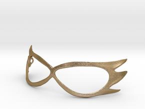 Sailor V Cosplay Mask in Polished Gold Steel
