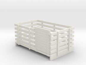 Sn2 W&L style sheep wagon  in White Natural Versatile Plastic