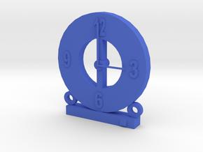 104102216 藍子超 造型時鐘 in Blue Strong & Flexible Polished