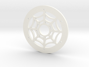 1.9 Spider Ring in White Processed Versatile Plastic