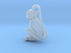 3D-Monkeys 333 in Smooth Fine Detail Plastic