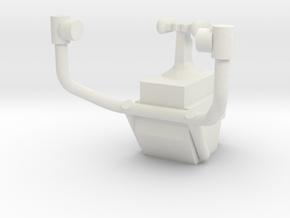 03A-LRV - Control Display 1 in White Natural Versatile Plastic