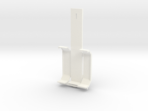 Hjelperamme8x4 in White Processed Versatile Plastic