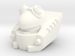 CW Auto-fodder (Deluxe Scale) in White Processed Versatile Plastic