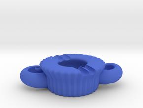 綿羊造型筷子架.stl in Blue Processed Versatile Plastic
