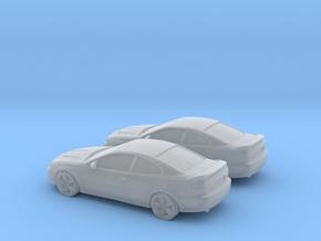 1/144 2X 2006 Pontiac GT in Smooth Fine Detail Plastic