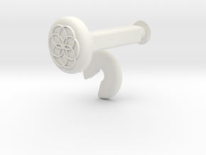 XuGong V2 - Locks for Vibration Dampers in White Natural Versatile Plastic