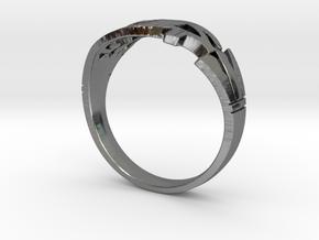 Eye of Horus Ring - Size 7 1/4 in Premium Silver