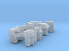 Aerial Team Heads for Oversized Uranos Hi-Res Set  in Smooth Fine Detail Plastic